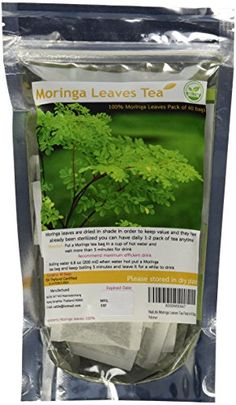 NalLife Moringa Leaves Tea Pack of 40 Bags -- Want additional info? Click on the image.