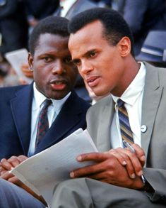 "Welcome To Jake's ""Who Knew? They Knew Each Other World"" A Celebration Of Friendship: Sidney Portier & Harry Belafonte"