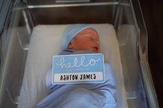 Welcome to the World, Ashton James Chapman