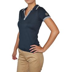 Designer women's golf clothing from J. The Golf Society has the best range of stylish and functional golf clothing. Golf Outlet, Golf Jackets, Polo Shirt White, Golf Wear, New Balance Women, Ladies Golf, Golf Shirts, Golf Clothing, Lady