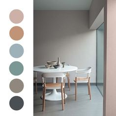CREATIVE LIVING FROM A SCANDINAVIAN PERSPECTIVE. : Soft pastel color combos