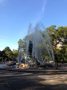 Brooklyn fountain