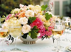 romantically beautiful,  english style.. a myriad of colors... spectacular.