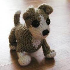 Amigurumi Crochet dog free pattern