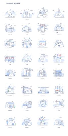 Web Design, Vector Design, Icon Design, Outline Illustration, Flat Design Illustration, Website Icons, How To Make Banners, Empty State, Design Reference