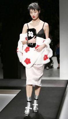 Inspiración asiática para Prada en la Semana de la Moda de Milán