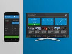 Second Screen UI Concept