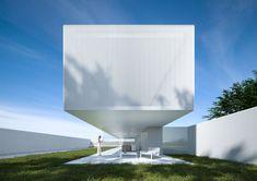 Architecture Résidentielle, Amazing Architecture, Contemporary Architecture, Exterior Wall Design, Style Minimaliste, Dream House Exterior, Building Design, House Design, Cliff House