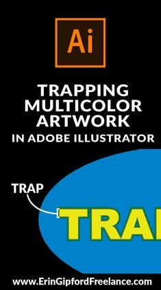 Watch as I explain how and why graphic designers need to ad trap to any multi-color vector artwork being silkscreen printed. Freelance Graphic Design, Graphic Design Tutorials, Graphic Designers, Adobe Illustrator Tutorials, Photoshop Illustrator, Learn Illustrator, Inkscape Tutorials, Drawing Tutorials, Photoshop Tutorial
