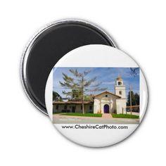 Mission Santa Cruz California Fridge Magnets from the Cheshire Cat Photo Store on Zazzle!