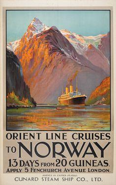 Orient Line Cruises to Norway