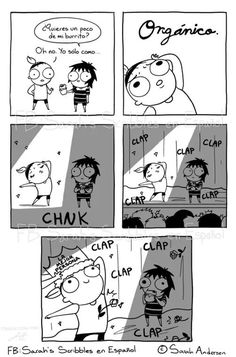 Anybody who's familiar with the comics of Sarah Andersen will know how perfectly they summarize the daily struggles of modern life, especially when it comes to Funny Shit, Funny Posts, The Funny, Hilarious, Funny Stuff, Sarah Anderson Comics, Sara Anderson, Cute Comics, Funny Comics