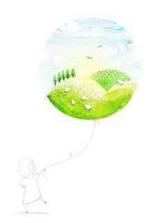 DAYLIGHT & STARLIGHT - Amy Borrell   Illustration & Design