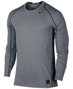 Nike Men's Pro Cool Dri-FIT Fitted Long-Sleeve Shirt $32.00 Nike Pro Cool long-sleeve shirt is made with moisture-wicking Dri-FIT and mesh fabrics that help you stay dry and comfortable, and cut in a fitted silhouette so you can move without constriction and stay on top of your game without distraction.