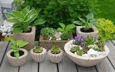 #DIY #Concrete #garten OBI Selbstgemacht Blog! Pflanztröge einfach selbstgemacht -aus einer Zementmischung