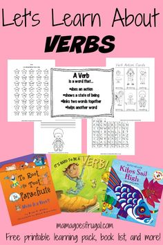 Let's Learn About Verbs