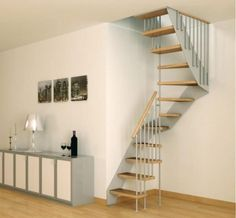Interior Design, Staircase Ideas For Small Spaces: Staircase Design For  Small Spaces In Modern Minimalist House