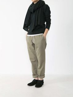 cotton cigarette pants