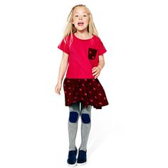 SPORTY T POCKET DRESS (2-6 yrs)