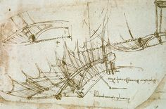 Da Vinci's Flying Machine Anatomy Reference, Drawing Reference, Da Vinci Inventions, Animation Schools, Magnum Opus, Renaissance Men, Cartography, Famous Artists, Art Decor