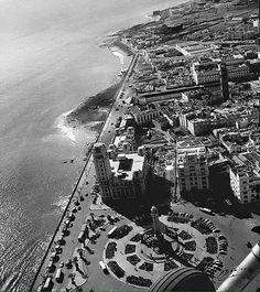 Vista aérea Santa Cruz Tenerife, Old Photography, City Photo, History, Places, Image, Modern, Santa Cruz, Porto