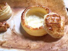 20 Rellenos de Volovanes (Vol-au-vent) Vol Au Vent, Crepes, Scones, Camembert Cheese, Donuts, Buffet, Pizza, Bread, Cooking