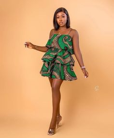 Short African Dresses, Latest African Fashion Dresses, African Inspired Fashion, African Print Dresses, Africa Fashion, Ankara Dress Designs, African Fashion Traditional, African Print Clothing, Kimono Fashion