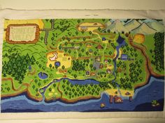 The day has come! Stardew Valley map is finished! :D #xstitch #crossstitch #http://StardewValleypic.twitter.com/ZhhnzhZ8UU