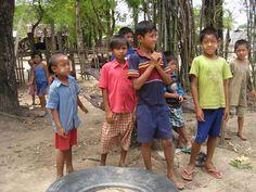 Children at  New Migrant School