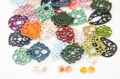 Ohrringe mit Wechselsystem Crochet Necklace, Jewelry, Ear Jewelry, Ear Piercings, Jewlery, Jewerly, Schmuck, Jewels, Jewelery