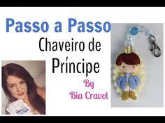 Passo a Passo - Chaveiro de Príncipe - Bia Cravol _ DIY - YouTube