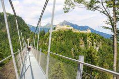 Highline179 - Hangbrug Reutte. Rij je via de Fernpass naar het Gardameer? Dan is dit een geweldige attractie om een tussenstop in te plannen!