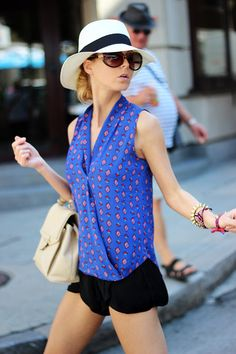 Summer Chic ( Hats & Shirts & Blouses )