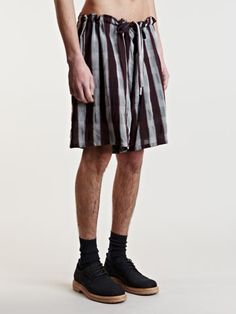 Cole shorts, Ann Demeulemeester.