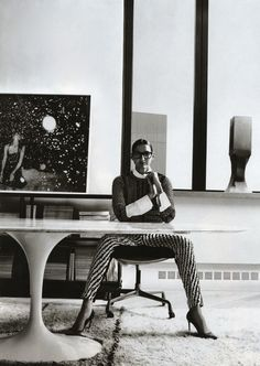 Jenna Lyons in her office.