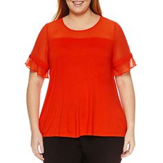 FREE SHIPPING AVAILABLE! Buy Worthington Short Sleeve Crew Neck Knit Blouse at JCPenney.com today and enjoy great savings. Available Online Only!