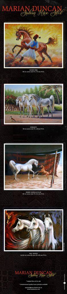 #Arabian #horse #art #paintings