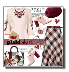"""Plaid"" by noconfessions ❤ liked on Polyvore featuring Roksanda, Jaggar, Coach, INC International Concepts, CC and Tory Burch"
