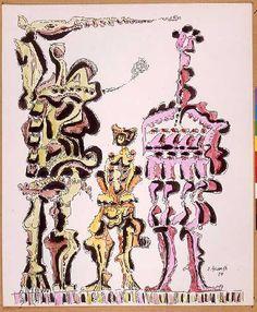 My grandfather's art... Eugenio Granell. Besos.