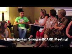A Kindergarten SmorgasBOARD Meeting! - YouTube