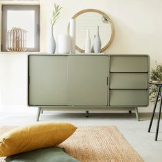 Deco Buffet, Best Interior, Interior Goods, Bedroom Bed, Kitchen Styling, Sweet Home, Cabinet, Retro, Dining Room