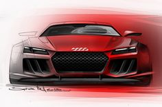 Audi Quattro Sport Concept Sketches Shown Before Frankfurt - Motor Trend WOT
