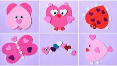 10 Kids' Crafts and Activities for Valentine's Day Valentine's Day Crafts For Kids, Toddler Crafts, Preschool Crafts, Crafts To Make, Arts And Crafts, Valentine Crafts For Kids, Valentines Day Activities, Holiday Crafts, Decoration St Valentin