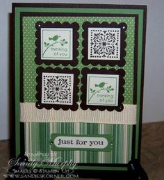 Cute By The Inch by Sandy Murphy - Cards and Paper Crafts at Splitcoaststampers