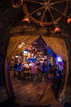 Photo Tour & Review of Trader Sam's Grog Grotto Bar at Walt Disney World!
