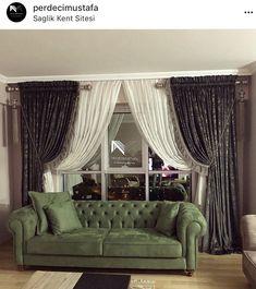 Koltuk modelleri Home Decor Kitchen, Diy Home Decor, Curtain Designs For Bedroom, Rideaux Design, Home Curtains, Interior Decorating, Interior Design, Model Homes, Home Decor Furniture