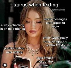 Taurus Memes, Pisces And Taurus, Taurus Traits, Taurus Quotes, Zodiac Signs Taurus, Zodiac Sign Traits, Zodiac Signs Astrology, Taurus And Gemini, Zodiac Star Signs