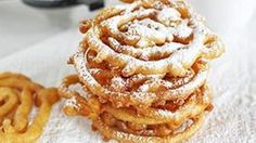 DIY State Fair Funnel Cake Yes.