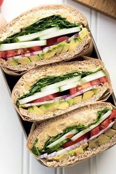 19 Easy Lunches With No Meat Or Dairy Whether you're vegan, vegetarian or just want to save money, these are made for you. - 19 Easy Lunches With No Meat Or Dairy Clean Eating Snacks, Healthy Snacks, Healthy Eating, Vegan Snacks, Vegan Dinners, Vegan Vegetarian, Vegetarian Recipes, Healthy Recipes, Free Recipes