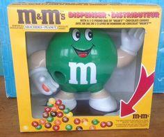 Vintage 1992 M&M Peanut Dispenser